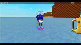 "Roblox Sonic Pulse what happends if you make ur name ""EXE"""