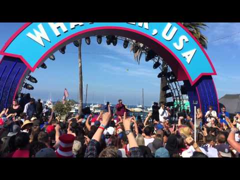 Snoop Dogg - Budweiser Up for Whatever 2015 in Avalon, Catalina Island pt. 1