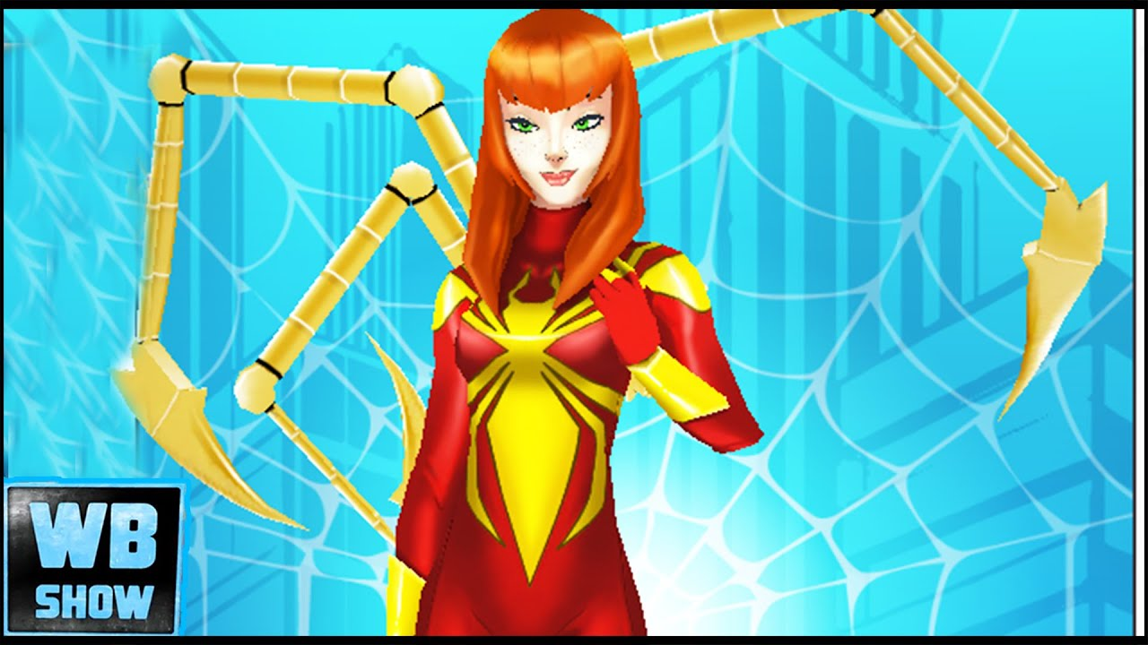 mary jane is iron spider gameplay part 13 marvel