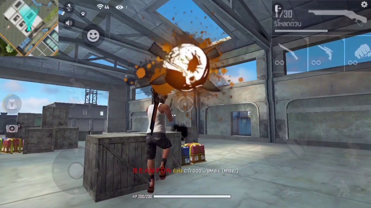 Free Fire : Highlight Play on mobile. Use two fingers to play. 🇹🇭TH