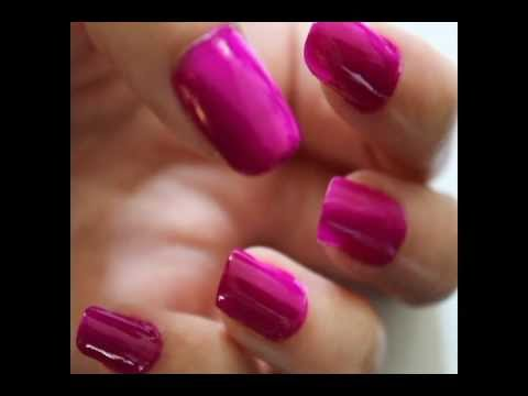 Want your natural nails to look fake? - YouTube