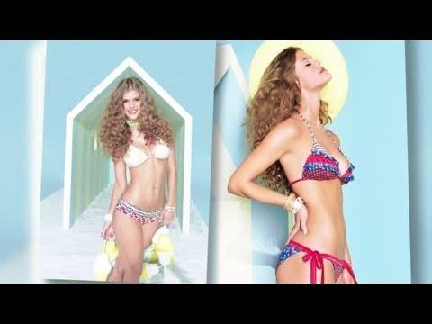Adam Levine's New Girl Nina Agdal Looks in Ship Shape in a Bikini - Splash News | Splash News TV