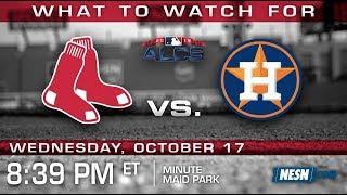 Red Sox vs. Astros ALCS Game 4 Preview: Porcello vs. Morton
