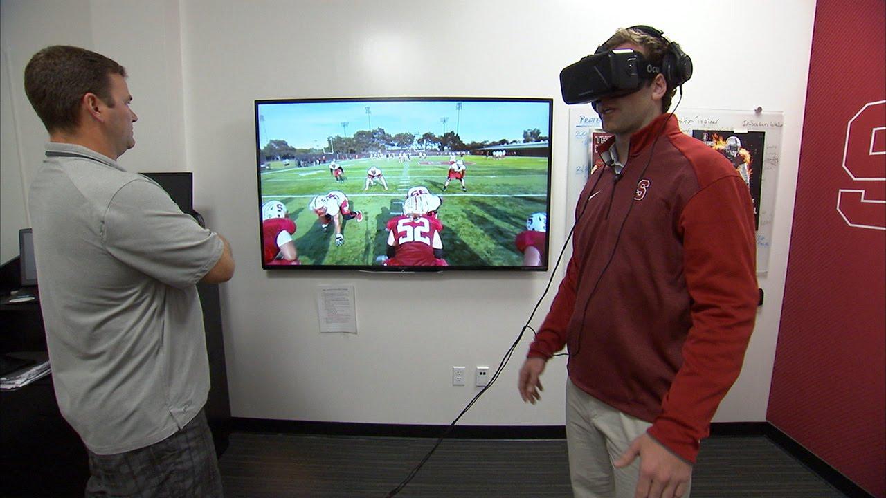 sports virtual reality american football VR