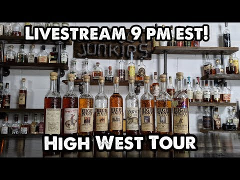 High West Distillery Product Reviews! Bourbon Junkies Live!