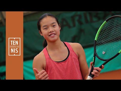 13/14 ans filles : Jenny Lim, en toute sérénité | FFT