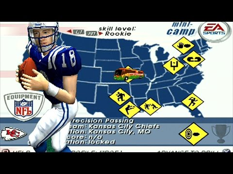 LETS PLAY MADDEN 03 MINI CAMP - LETS GO PEYTON MANNING - PART 2