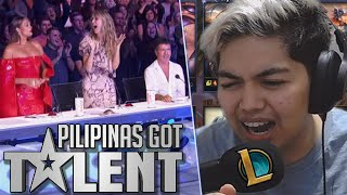 PILIPINAS GOT no TALENT 2019: KingFB with DUAL VOICES! - LoL PH (Tagalog)