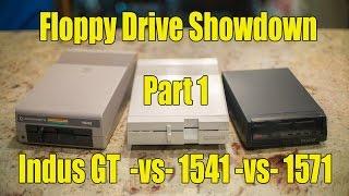 Floppy Drive Showdown P1: Indus GT vs 1541 vs 1571