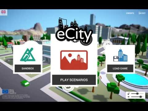 Ecity - building city game for mac & pc