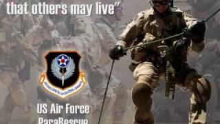 "USAF PARARESCUE TRIBUTE / ""We"