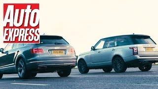 Bentley Bentayga vs Range Rover SVAutobiography: 1,103bhp über SUV drag race
