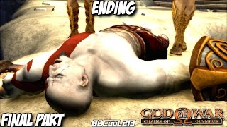 GOD OF WAR CHAINS OF OLYMPUS GAMEPLAY WALKTHROUGH PART 6 FINAL BOSS FIGHT & ENDING - PS3 LETS PLAY