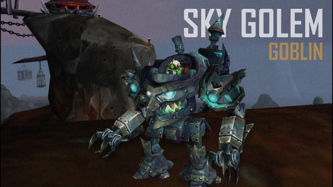 how to build the sky golem