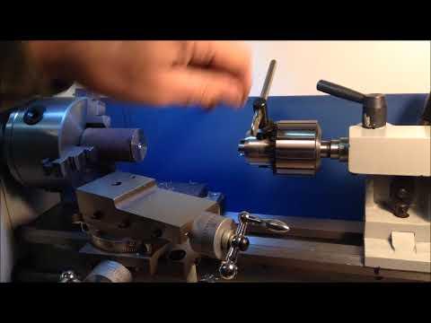 Mini Lathe Operations #2: Drilling
