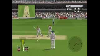 Brian Lara Cricket 2005 : Double Wicket Gameplay - England vs Australia