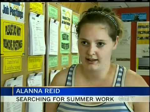 Finding Summer Jobs is Proving Difficult for Vancouver Island Youth
