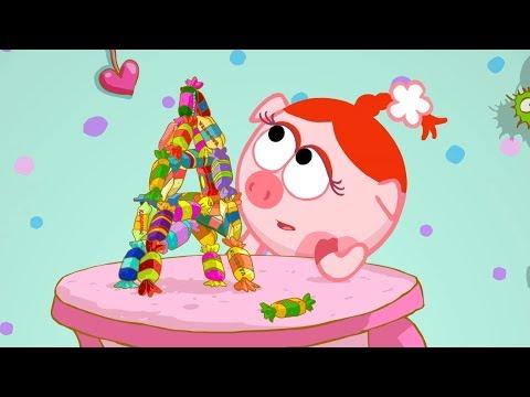 Смешарики 2D - Горы и конфеты   Мультики для детей и взрослых