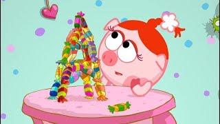Горы и конфеты Смешарики 2D Мультфильмы для детей