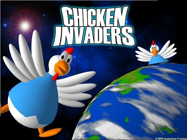 Nostalgia #1 Chicken Invaders 1 [FULL GAMEPLAY] #1