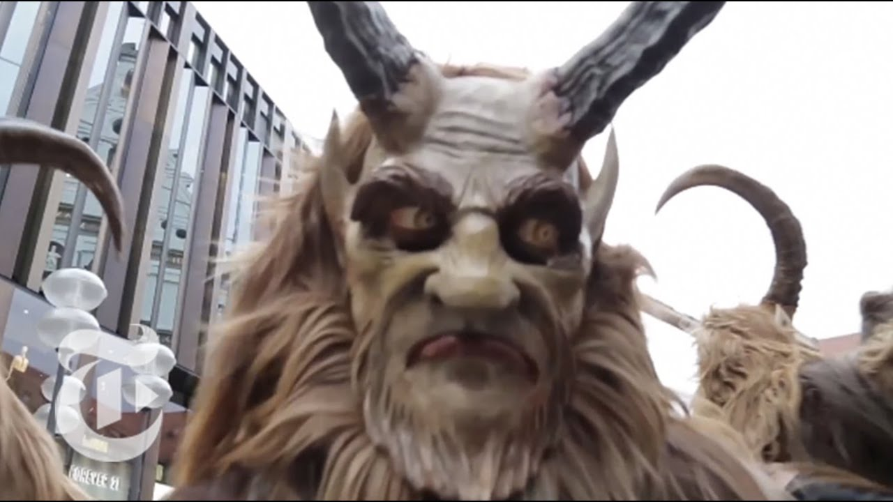 In Bavaria Krampus Catches The Naughty The New York
