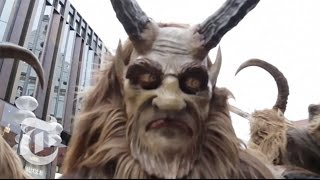 In Bavaria, Krampus Catches the Naughty | The New York Times
