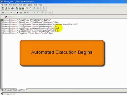 how to write automated test cases