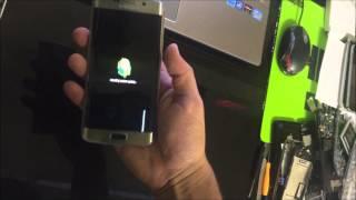 Como Resetear | Desbloquear el Samsung Galaxy S6 Edge ★ Hard Reset