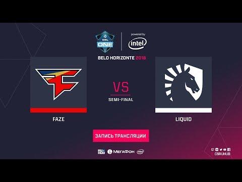 FaZe vs Liquid - ESL One Belo Horizonte - map2 - de_dust2 [ceh9, Enkanis]