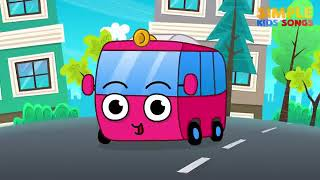 The Wheels on the Bus Songs for Kids Simple Kids Songs