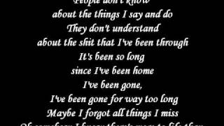 Kid Rock - Only God Knows Why - Lyrics