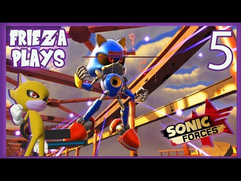 METAL SONIC STRIKES! FRIEZA PLAYS SONIC FORCES PART 5!