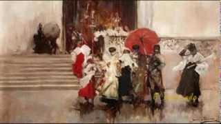 Pintura escuela sevillana (y II) Romanticismo español. Anda Jaleo. García Lorca.