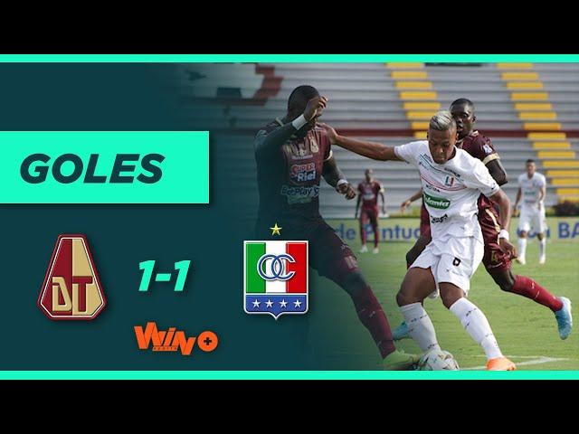 Tolima vs. Once Caldas (1-1) | Liga BetPlay Dimayor 2021-1 - Fecha 1