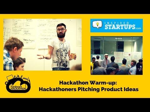 """IoT"" - Idea Pitching Session (Ireland's First Design & Hardware Hackathon) #HackDublin"