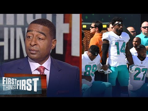 Cris Carter reacts to the NFL