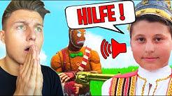 ALBANISCHES KIND BRAUCHT HILFE! (Fortnite Random Duos)
