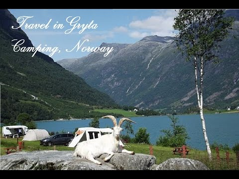 Visit Gryta Camping, Norway - The most beautiful lake in the world