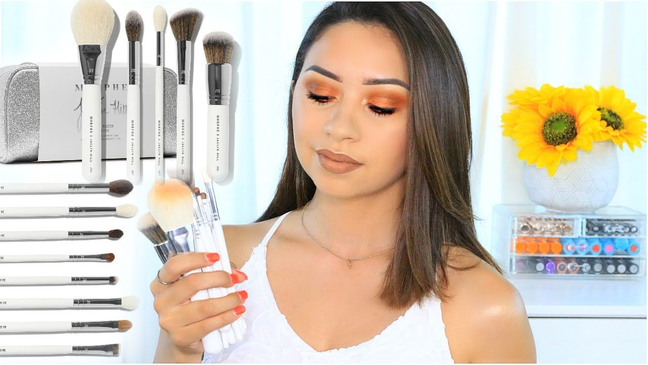 182a4624d22 JACLYN HILL X MORPHE EYE MASTER SET & FACE MASTER SET - YouTube