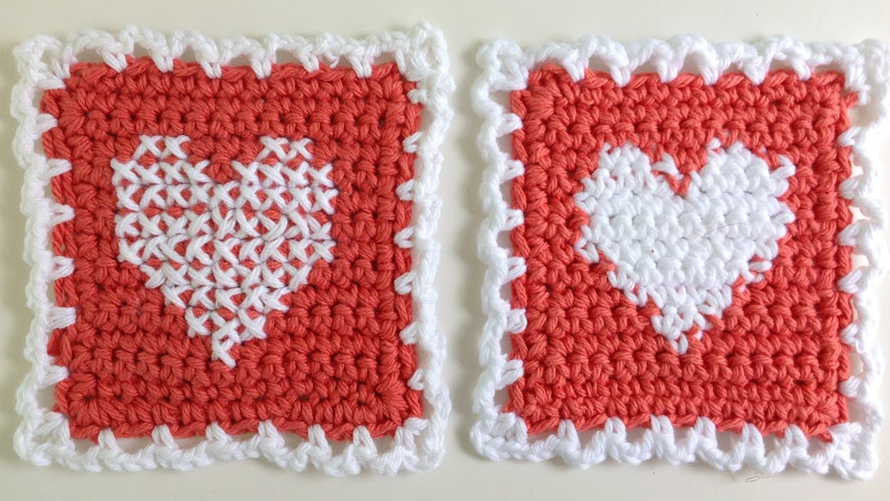 Instarsia Crochet vs. Cross Stitch Crochet - Free Cross Stitch Pattern ...