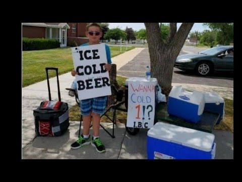 Download Kid selling BEER on the streets/MUST WATCH