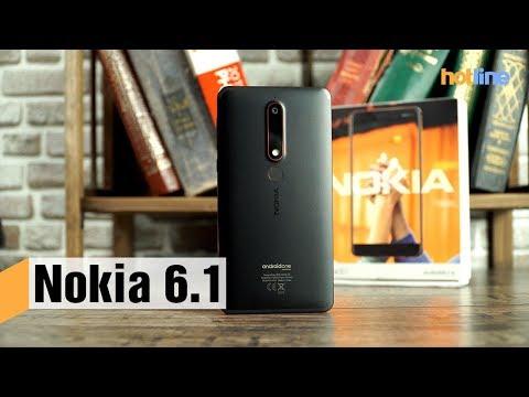 88370f98e2e1f Nokia 6.1 3/32GB Black (11PL2B01A11) купить в интернет-магазине: цены на  смартфон Nokia 6.1 3/32GB Black (11PL2B01A11) - отзывы и обзоры, ...