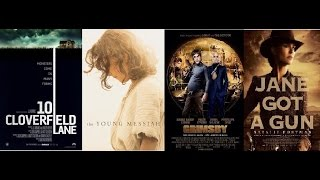 AJ's Movie Reviews: 10 Cloverfield Lane, Brothers Grimsby, Young Messiah & Jane Got A Gun(3-11-16)