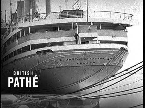 Southampton Aka Empress Of Australia (1939)