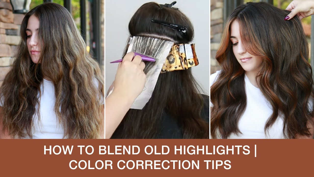 How to Blend Old Highlights | Color Correction Tips with @Mirella Manelli  | Kenra Color