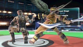 Doubles Spike (Snake + Dark Pit) - Super Smash Bros Ultimate