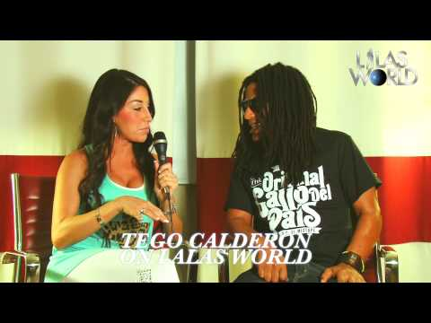 TEGO CALDERON interview on LALAS WORLD