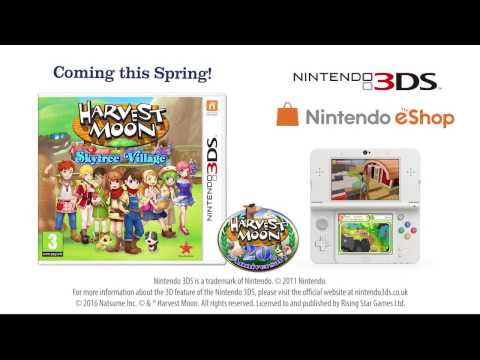 Harvest Moon: Skytree Village - Trailer EU Launch
