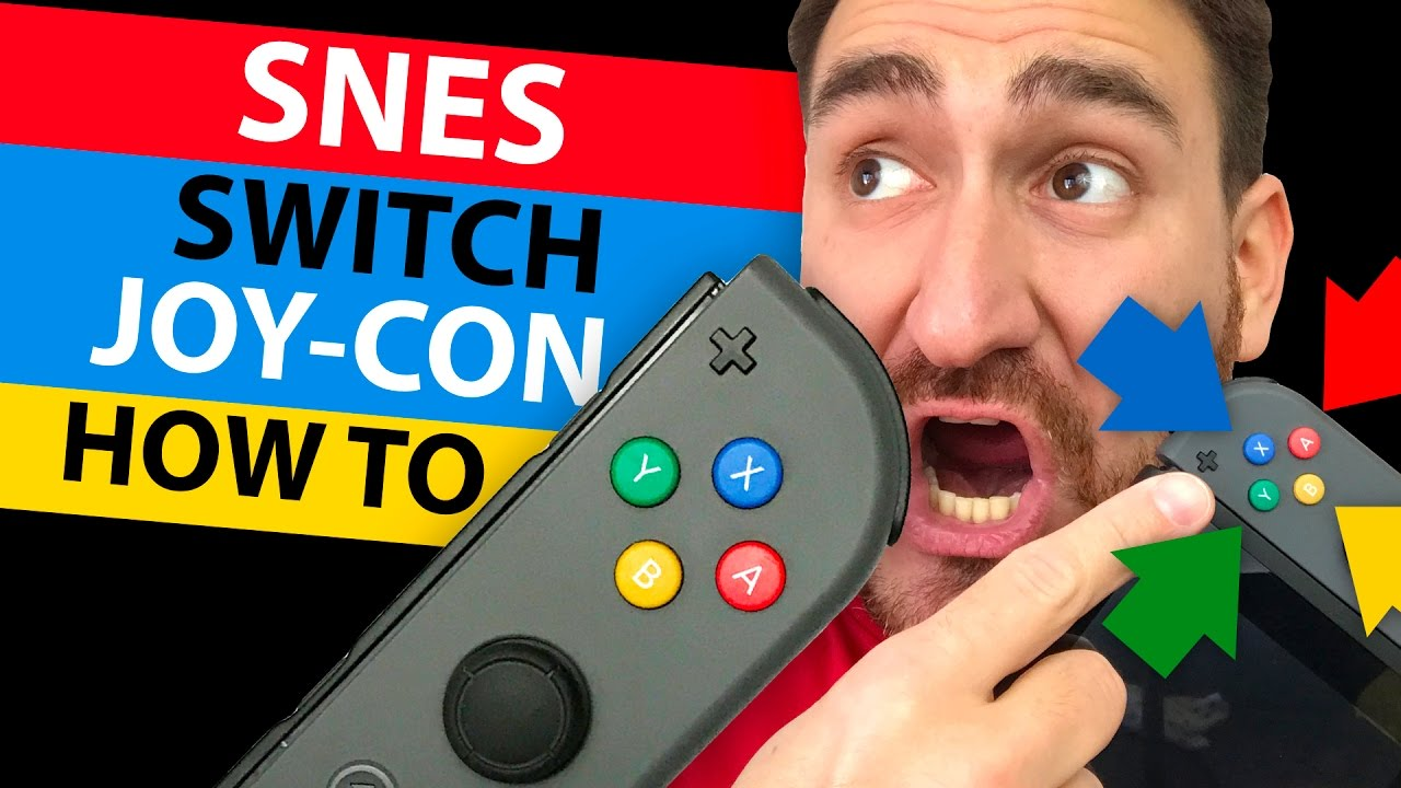 SNES Themed JOY-CON! - HOW TO replace the Buttons! - FULL TUTORIAL