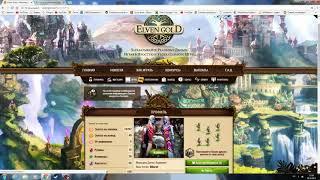 Сайт по заработку Elvengold начало! Как заработать! +стратегия без особого вложения!
